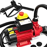 Monzana Dieselpumpe Ölabsaugpumpe 40L/ Min 600W inkl. Zapfpistole+Zubehör - Absaugpumpe Ölpumpe Heizöl