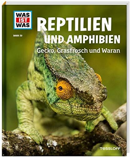 WIW Bd. 20 Reptilien und Amphibien. Gecko, Grasfrosch und Wa (WAS IST WAS Sachbuch, Band 20)