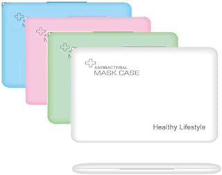 MOLEAQI - Bolsa de almacenamiento para M-a-sque portátil, caja de almacenamiento para M-a-sque antipolvo para prevención d...