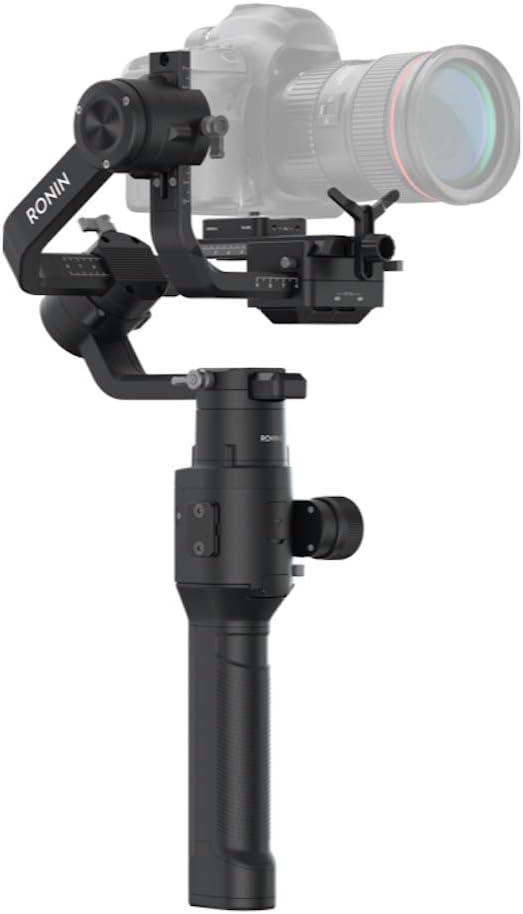 DJI Ronin-S - Estabilizador de 3 Ejes para Cámaras Reflex Digitales DSLR, Control All-in-one, Estabilizador de Imagen y Video, Autonomía de 12 Horas, Velocidad Máxima de Operación 75 km/h
