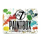 W7 Paint Box Paleta de 77 Sombras de Ojos