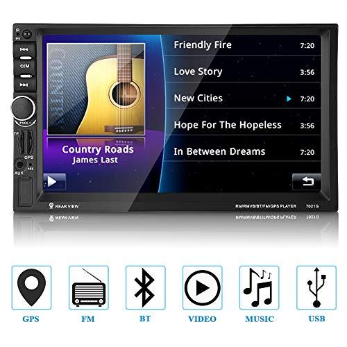 Audio 7021G Doppel Din, Touchscreen, Bluetooth, Navigation, Digital LCD Monitor 7
