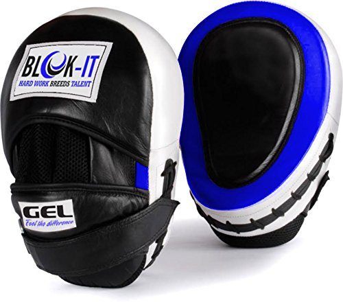 Blok-iT Manoplas Boxeo con Gel (Azul)