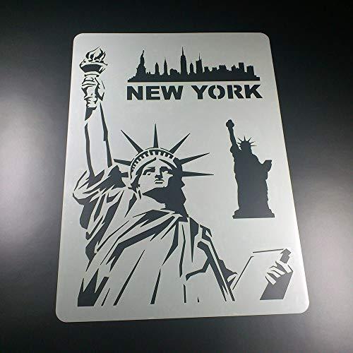 Schablone New York Freiheitsstatue - BA01