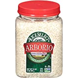 RiceSelect Arborio Rice, Risotto Rice, Gluten-Free, Non-GMO, 32 oz (Pack of 4 Jars)