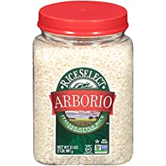 RiceSelect Arborio Rice is perfect for creating unforgettable meals, such as indulgent risotto, seasonal arancini appetizers, or rich rice pudding Packaged in a 100% recyclable, BPA-Free jar Non-GMO Project Verified, Certified Gluten-Free and Certifi...
