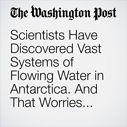 Scientists Have Discovered Vast Systems of Flowing Water in Antarctica. And That Worries Them. copertina