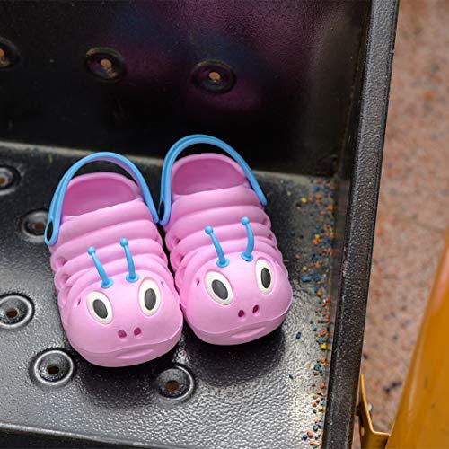 Kleine Tomate Unisex Kinder Hausschuhe, Pink - 5