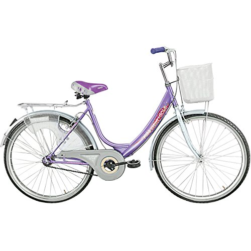Hero Miss India Gold 26T Girl Bike 17.4-inches (Purple)