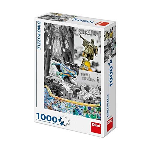 Dino Toys 532670 Barcelona Collage Puzzle 1000 Piezas
