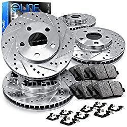 R1 Concepts Ceramic Brake Pads and Rotors Kit