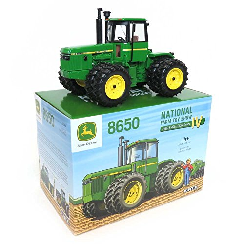 John Deere 8650 8 Roues Farm Toys Show 2016 - ERT16304A