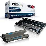 Print-Klex Toner und Trommel kompatibel für Brother TN2120 & DR2100 MFC 7320 MFC 7320 W MFC 7340 MFC 7440 N MFC 7440 W MFC 7840 W TN-2120 TN 2120 DR-2100 DR 2100 - Office Print Serie