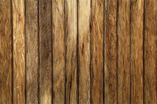 YEELE Vertical Wood Wall Backdrop 8x10ft Brown Wooden Floor Interior Photography Background Newborn Baby Kids Children Adults Photos Artistic Portrait Photobooth Props Digital Wallpaper