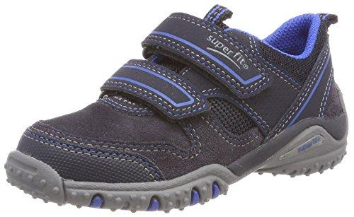 Superfit Jungen SPORT4 Sneaker, Blau (Ocean Kombi), 32 EU