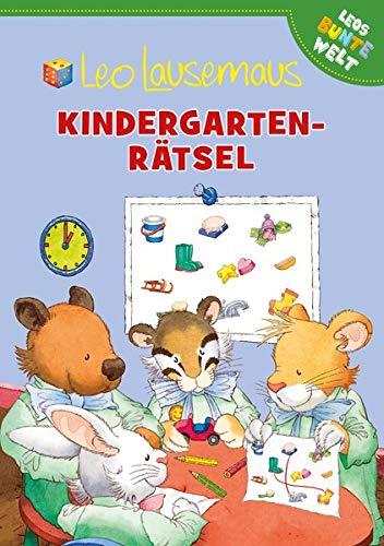 Leo Lausemaus - Kindergarten-Rätsel (Leos bunte Welt)