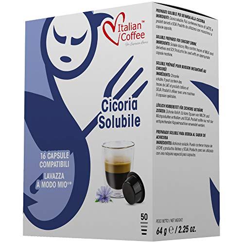 96 Capsule di caffè Italian Coffee compatibili Lavazza A Modo Mio®* (Cicoria)