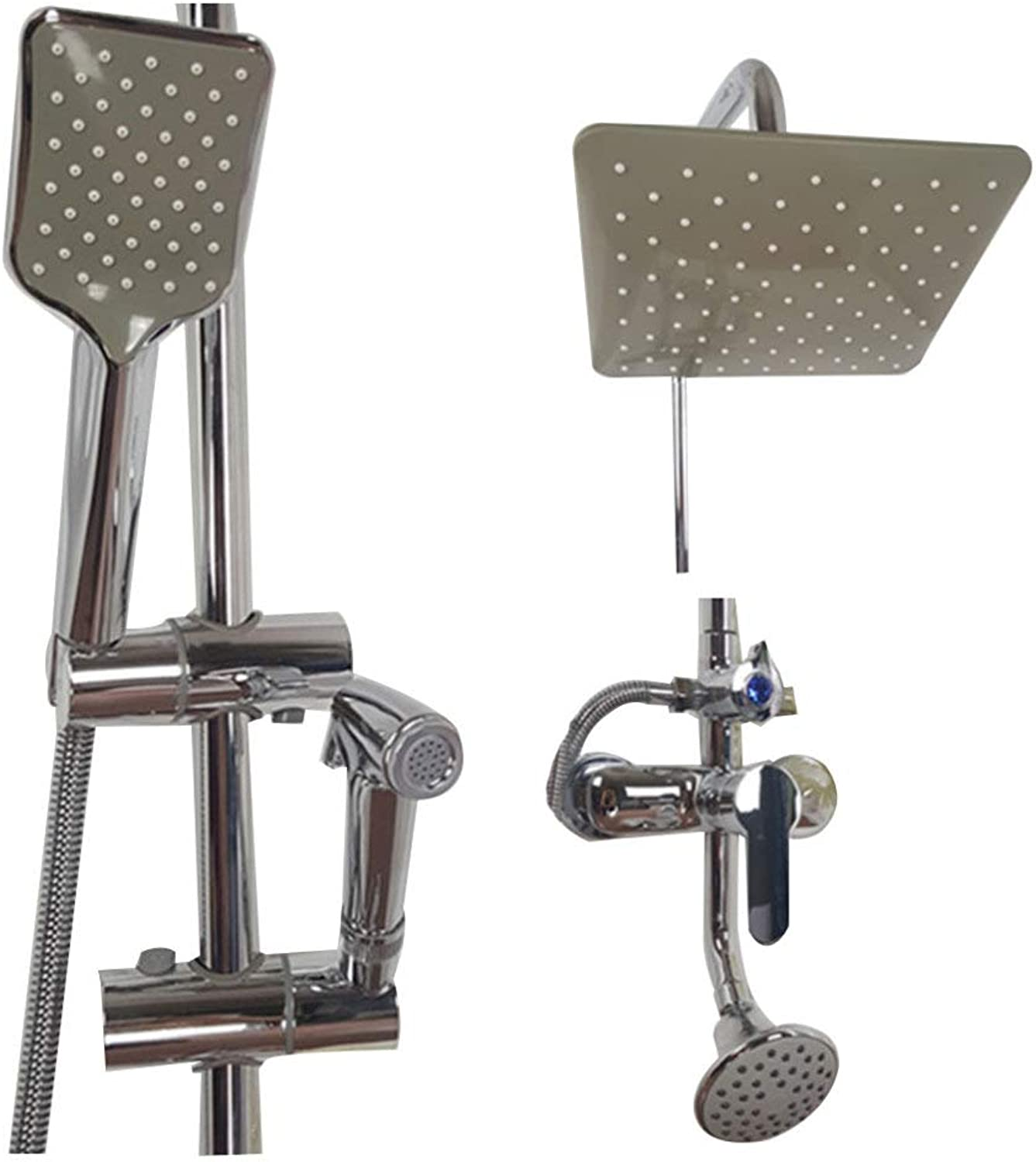 DYMAS Shower,Four-Stop Water Hose Lifting Type Shower Faucet