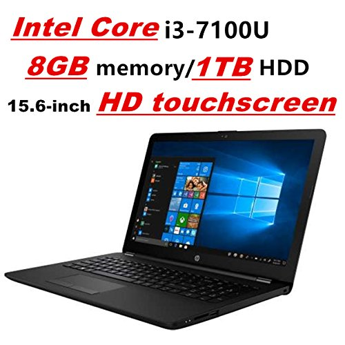 HP Pavilion Laptop PC Notebook, Intel Core i3-7100U, 8GB DDR4, 1TB HDD, 15.6' HD touchscreen,...