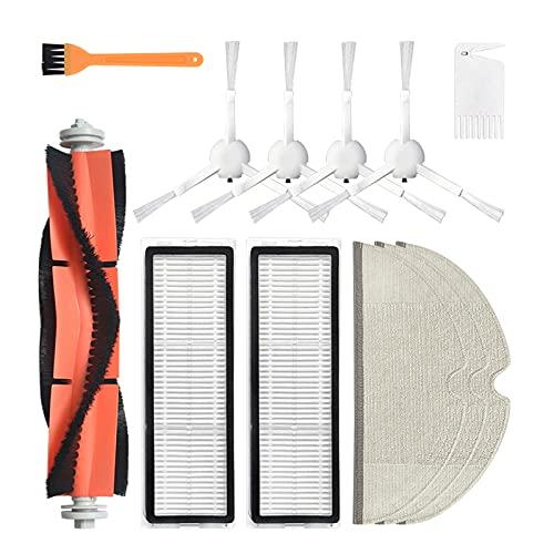 HUAYUWA - Cepillo principal para barra de cepillo lateral, filtro de cepillo para trapos de repuesto para Mijia 1C
