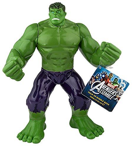 Marvel Avengers Hulk 3D Bubble Bath, 1er Pack (1 x 300 ml)