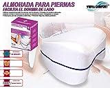 Almohada para piernas ergonómica We Houseware BN4251 facilita el Dormir de Lado, Ideal Embarazadas