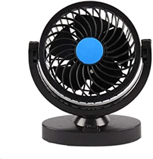 12/24V Double-headed Car Fan All-Round Portable Car Vehicle Truck Air Fan Adjustable Cooler Cooling Car Accessories