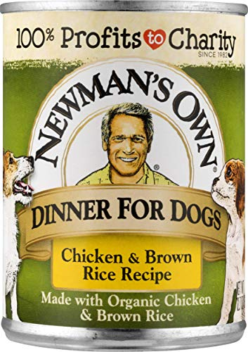 Price comparison product image Newman's Own Chicken & Brown Rice Dinner For Dogs,  12.7-oz.