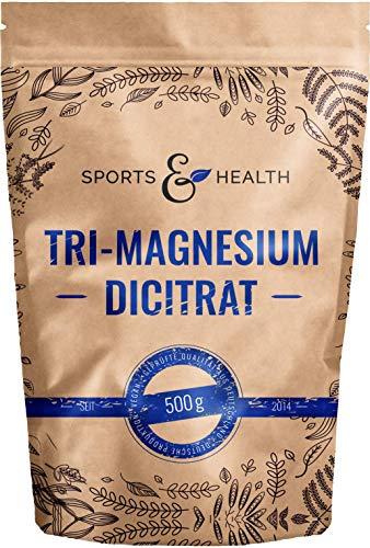Tri-Magnesium Dicitrat Pulver