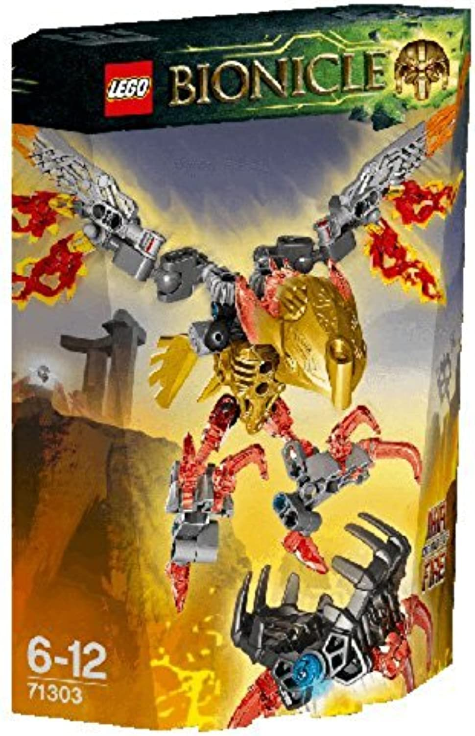 LEGO Bionicle 71303  Ikir Creature of Fire Mixed