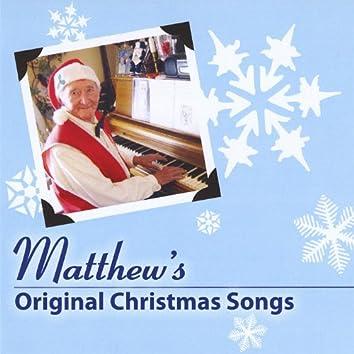 Matthew's Original Christmas Songs