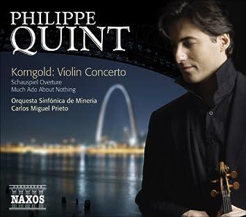 Korngold, E.W.: Violin Concerto / Schauspiel Overture / Much Ado About Nothing Suite