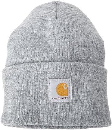 Carhartt Watch Hat Boina, Heather Grey, OFA Unisex-Adulto