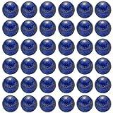 Natural Stone Beads 100pcs 8mm Lapis Lazuli Round Genuine Real Stone Beading Loose Gemstone Hole Size 1mm DIY Charm Smooth Beads for Bracelet Necklace Earrings Jewelry Making (Lapis Lazuli)