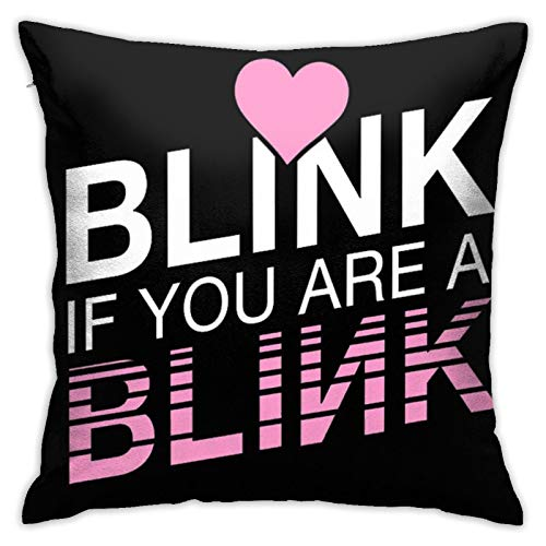 Black-Pink Velvet Throw Pillow Cover Decor Unique Pillows Case Square Cushion for Sofa Couch Home Decoration 18'X 18'