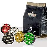Barista Italiano 80 Dolce Gusto Cápsulas Compatibles (VARIEDAD DE CAFE', 80 Cápsulas, 80 Porciónes, 5 Mezclas de café)