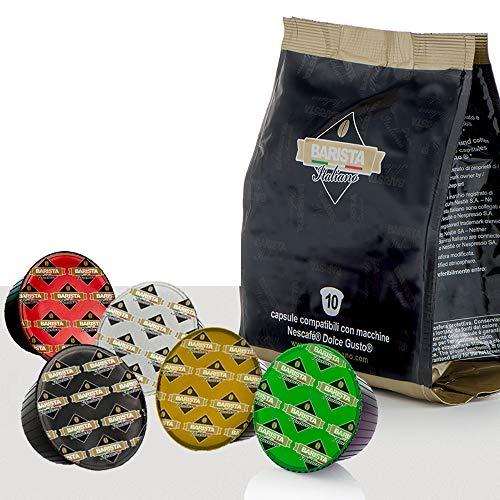 Barista Italiano 80 Capsule Compatibili NESCAFÈ Dolce Gusto (VARIETÀ DI CAFFÈ, 80 porzioni)