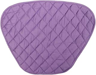 Home covers Round Dining Kitchen Table Quilted Pack of 7- Placemat Set and Center mat Premium Quality (Purple)