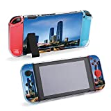 SUPNON Night View Compatible with Nintendo Switch Protective Case, Durable Flexible TPU Shock-Absorption Anti-Scratch Drop Protection Kids Cover Shell for Nintendo Switch Console & Joy-Con Design1167
