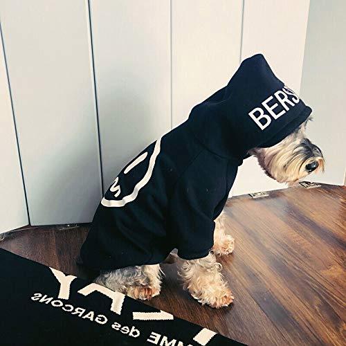 Elvoo Schnauzer Bilbao Panda Teddy Cat Ropa para mascotas Perro pequeño Ropa para perros Camuflaje de invierno Ropa para perros Moda Ropa para perros Ropa Clobber Ropa Ropa Vestido Prenda Tog Pet