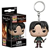 Levi Ackerman x Pop Llavero Attack On Titan PVC Exquisita Coleccionable Multicolor...