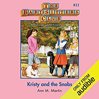 Kristy and the Snobs audiobook cover art