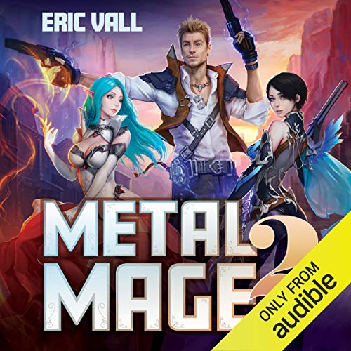 Metal Mage 2 audiobook cover art