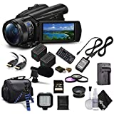 Sony Handycam FDR-AX700 4K HD Video Camera Camcorder + Extra...