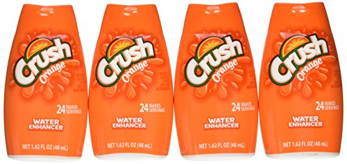 Crush Orange Liquid Water Enhancer, 1.62 OZ, 4 Count