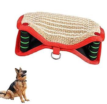DNDN Dog Bite Manches de Formation sur la Protection du Bras, Bite Dog Manches avec Boucle avec Boucle, Garde Bite Protection Sleeve Compatible avec Les Deux Mains Gauche et Droite