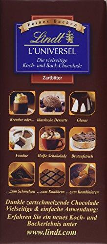 Lindt L' Universel, Koch- und Back-Schokolade, 13er Pack (13 x 180 g)