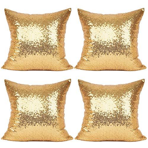 Cojines Cama Decorativos Con Brillo Rectangular cojines cama  Marca BSSN