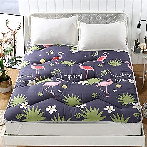 WENZHEN Colchon Gama Alta,Espesar colchón de futón de Piso japonés Acolchado Plegable Tatami Acolchado para Dormir para huéspedes niños Adultos-si_150x200 cm (59x79 Pulgadas)