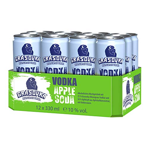 Grasovka Apple Soda (12 x 0.33 l)